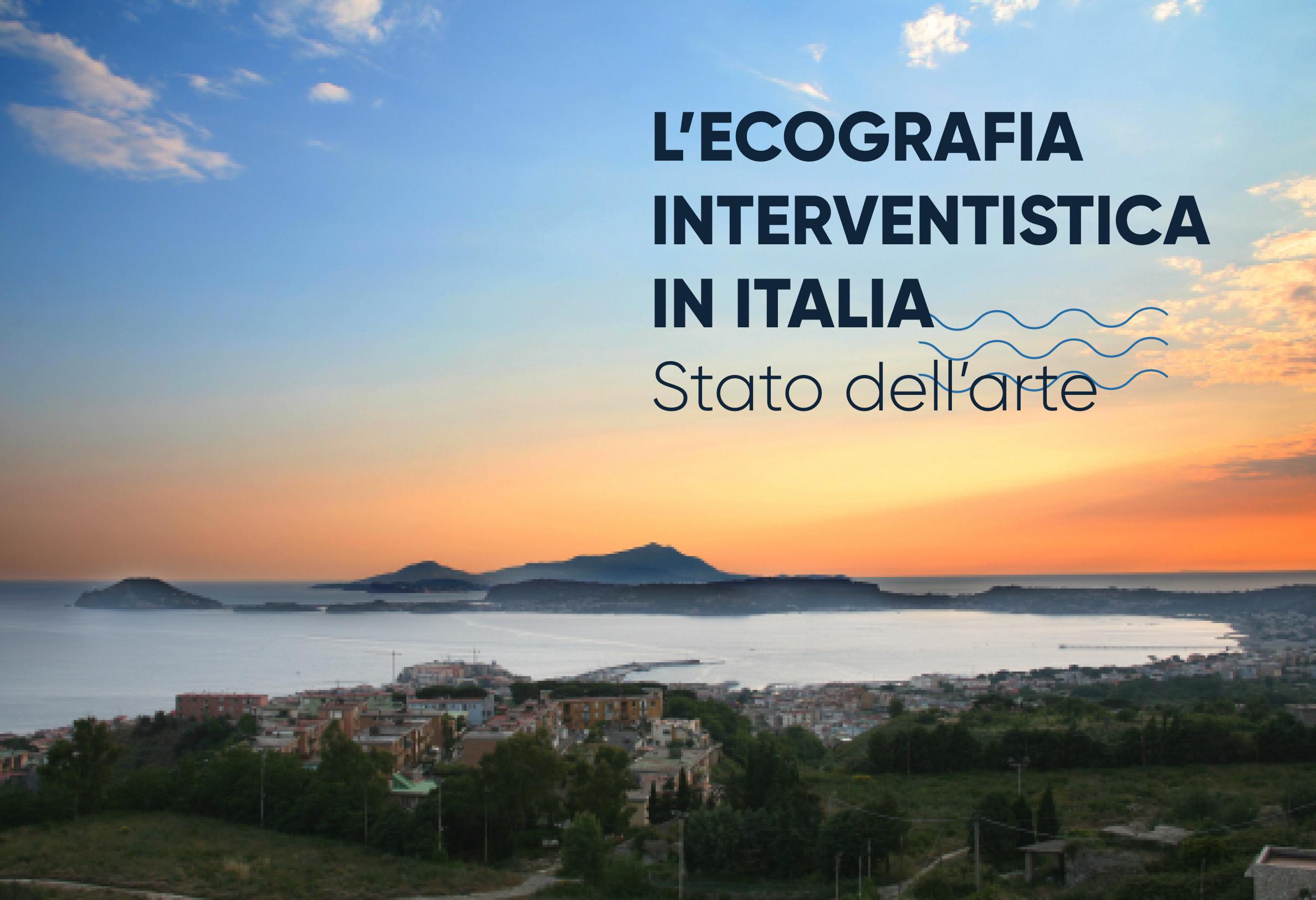 L'ecografia interventista in Italia: Lo stato dell'arte