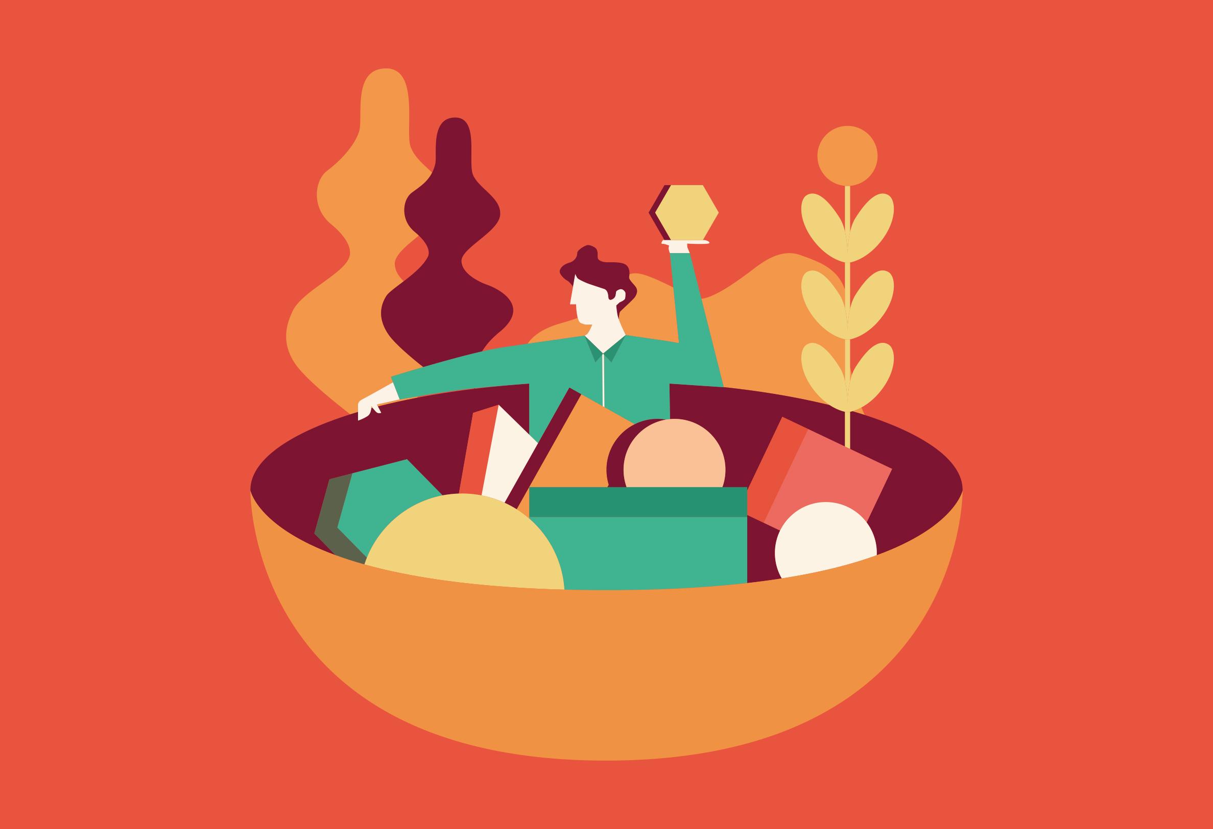 Dalla ricerca al piacere della tavola. Sostenibilità e resilienza: come rendere facili le scelte salutari