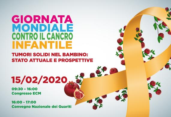 Giornata Mondiale contro il cancro infantile. TUMORI SOLIDI NEL BAMBINO: STATO ATTUALE E PROSPETTIVE